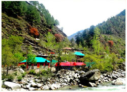 Adventure Camping in Tirthan Valley