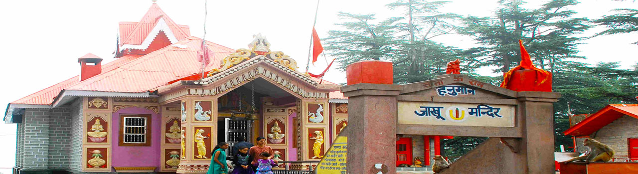 Places to visit in shimla like mall road shimla-jakhu temple