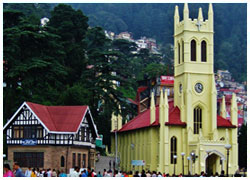 Simla Tour Package From Chandiagarh-Shimla Travel Guide