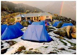 Day hike to Triund Camp from Mcleodganj Dharamsala Treks